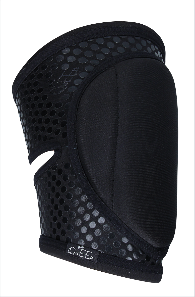 Grip Knee Pads for Pole Dancing Black