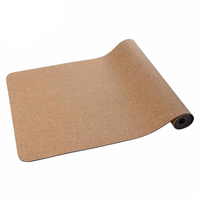 Non-slip Cork/Natural Rubber Yoga Mat