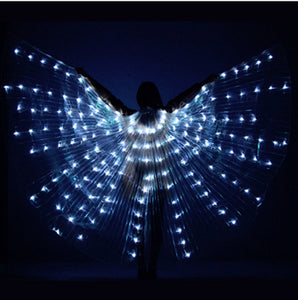 Colorful Dance LED Isis Wings