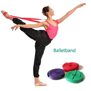 Latex Ballet Stretch Band