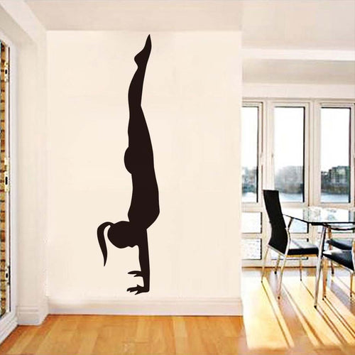 Handstand Wall Sticker