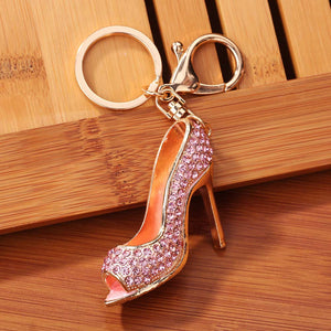 High Heel Keyring