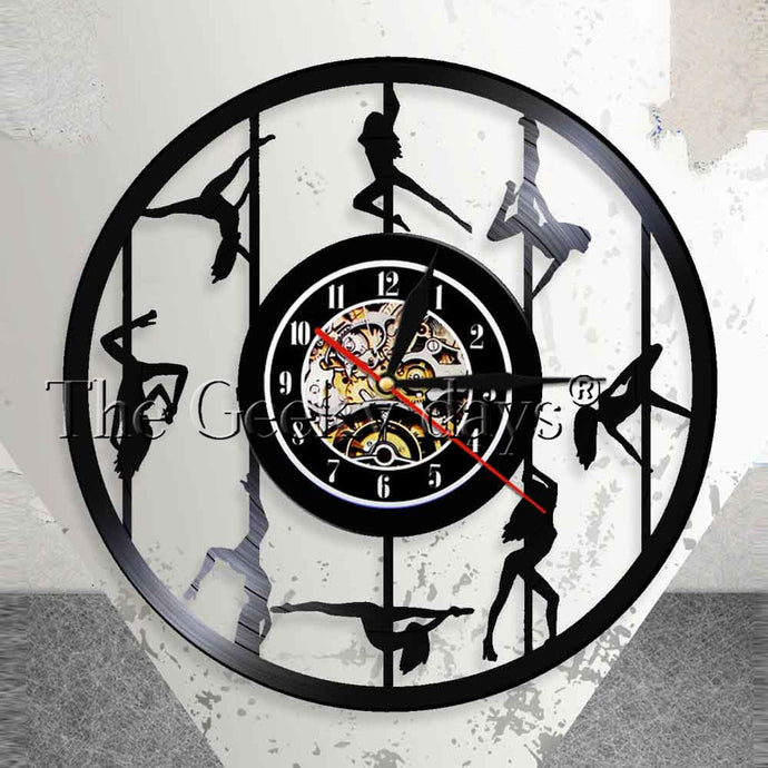 Pole Dance clock