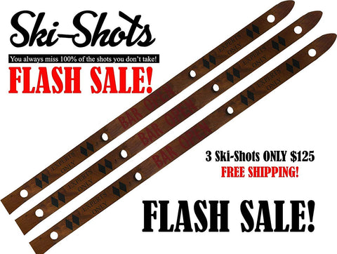 Holey SHOT-SKI Closeout   3 for $75!!