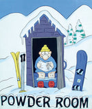 Powder Room print