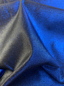 Cotton Metallic Stretch Fabric