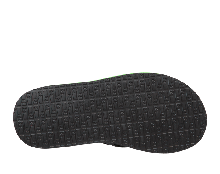 black-sanuk-green