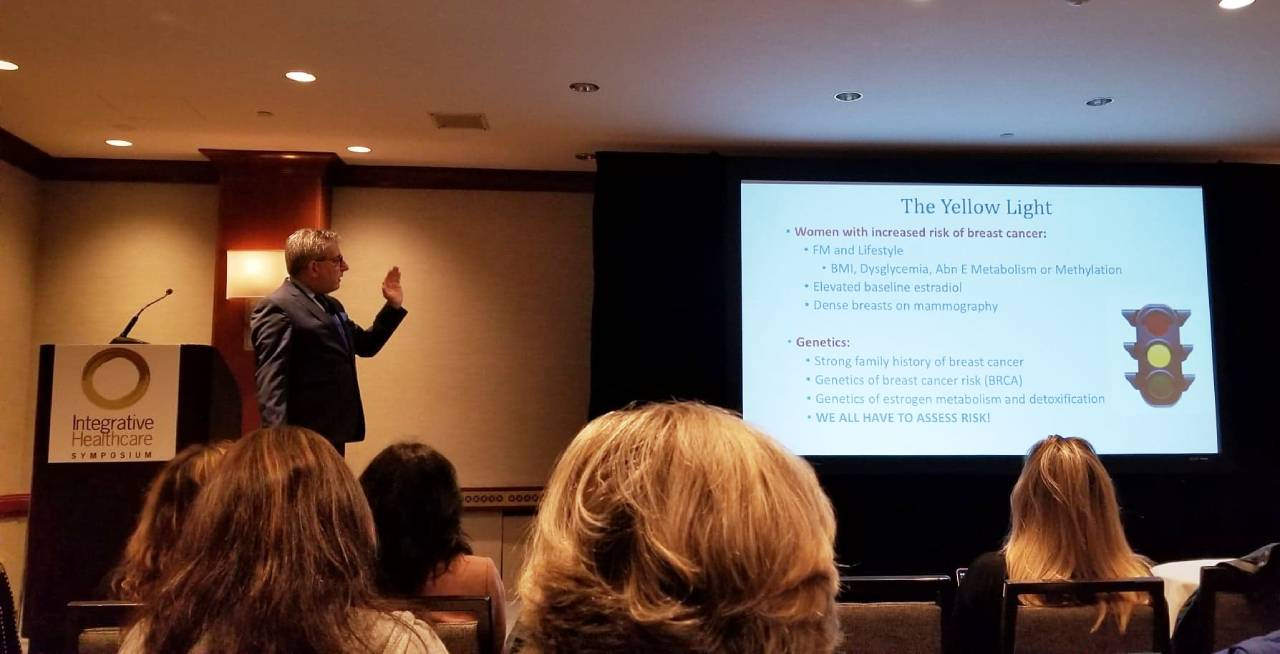 "Hormonal Replacement  Therapy. ""To Give or Not to Give! The lecture by Dr. Joel Evan's, MD, - the Center for Functional  Medicine, Stamford, CT."