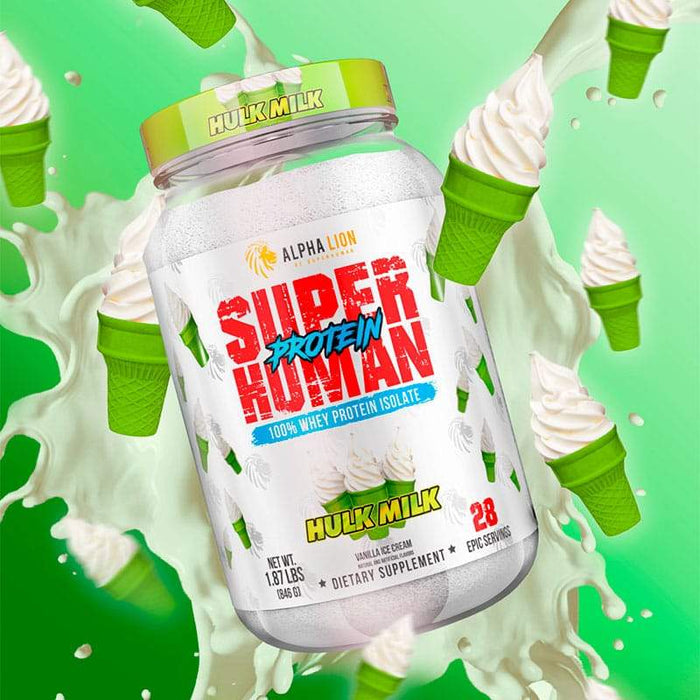SuperHuman Protein - Hulk Milk - Alpha Lion