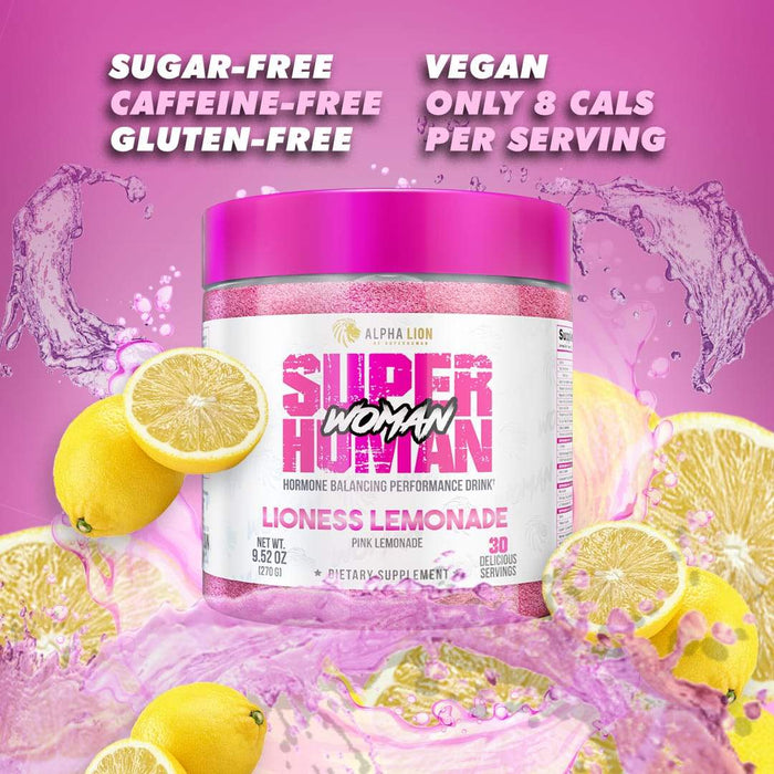 SUPERHUMAN® WOMAN - HORMONE BALANCING PERFORMANCE DRINK
