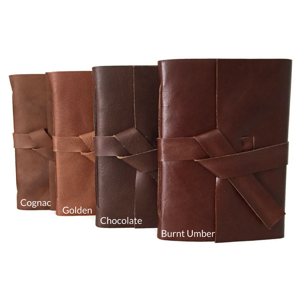 Leather Color Chart - shades of brown