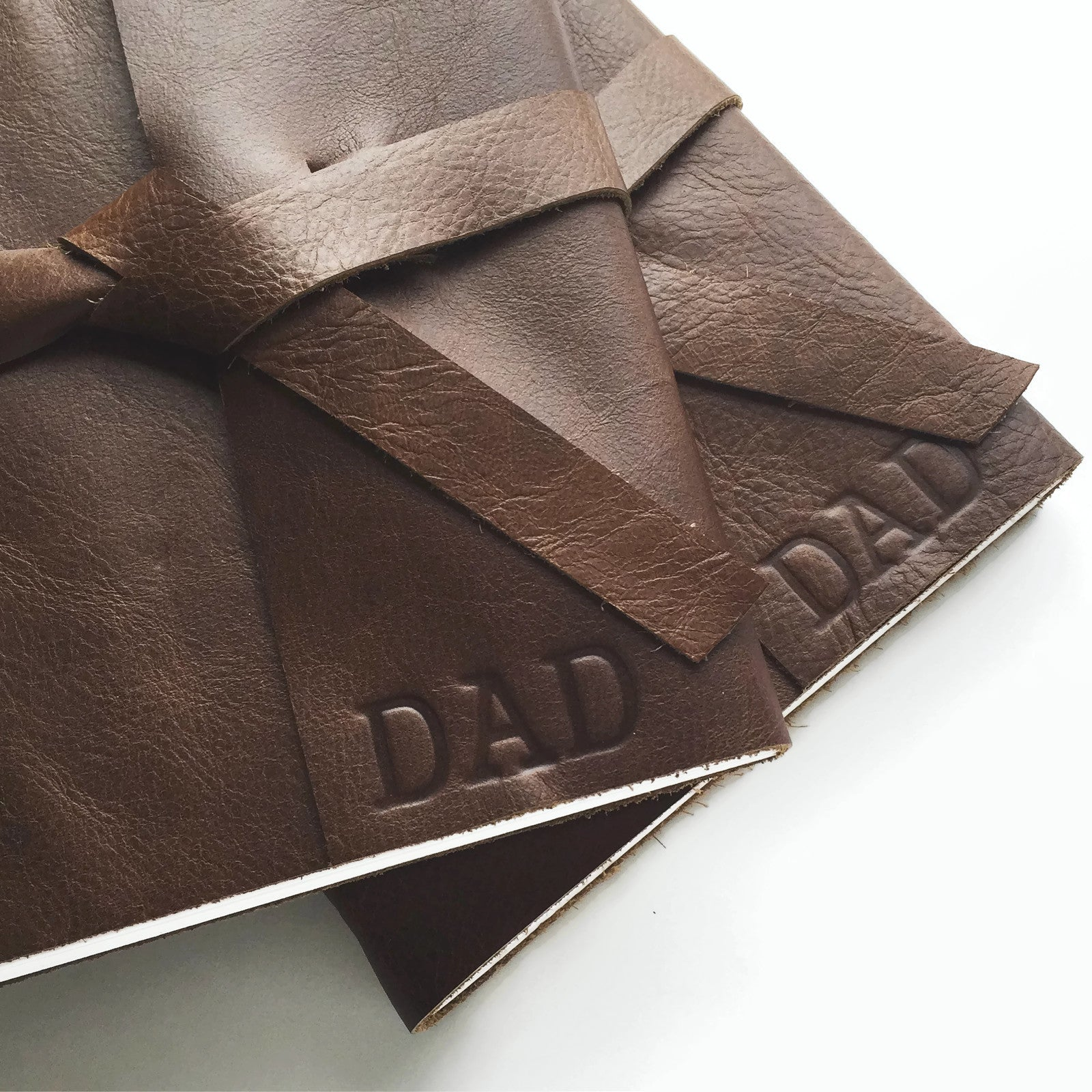 Father's Day Classic Leather Journal, 192 pages, Build Your Own