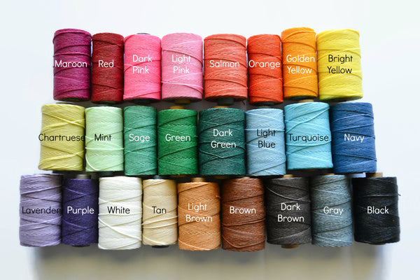 Custom Journal Thread Color Chart of 25 Thread Color Options