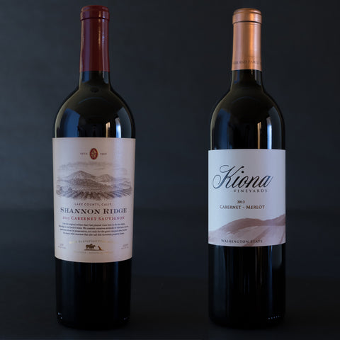 Shannon Ridge High Elevation Cabernet Sauvignon/Kiona Cabernet-Merlot 2013