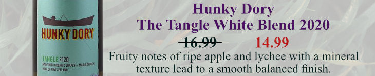 Hunky Dory The Tangle White Blend 2020