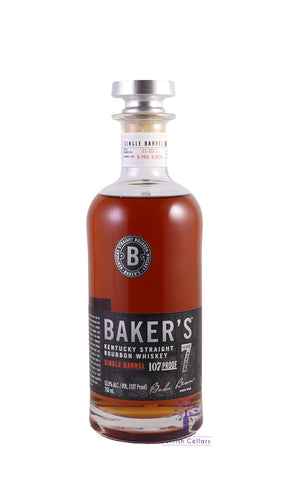Baker's Bourbon Single Barrel 7yr Bourbon 750ml
