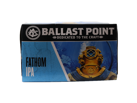 Ballast Point Fathom IPA 12pk Cans