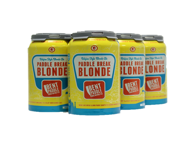 Bent Paddle Paddle Break Blonde Ale 6pk Cans