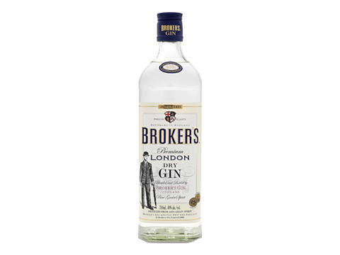 Broker's Premium Gin 750ml