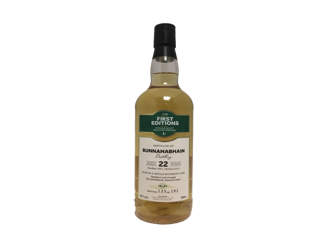First Editions Bunnahabhain 22 Year Old 750ml