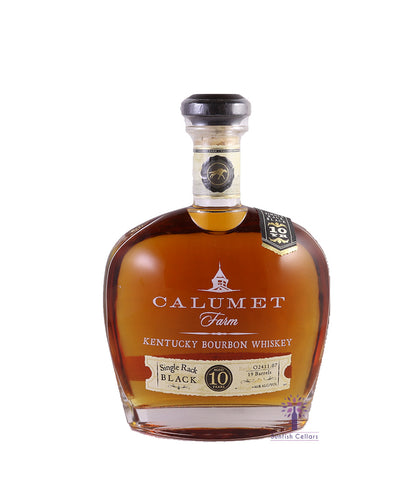 Calumet Single Rack Black 10yr Bourbon 750ml