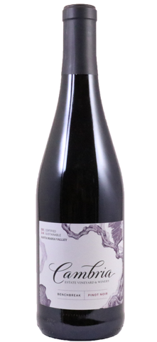 Cambria Bench Break Vineyard Pinot Noir 2014