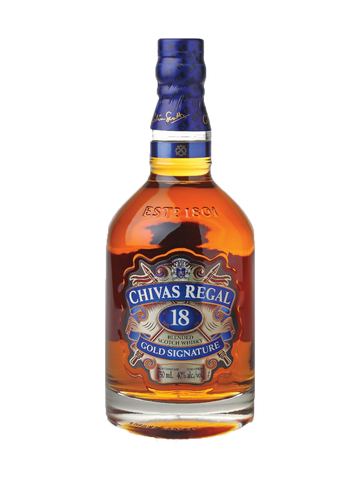 Chivas Regal Gold Signature 18 Year Old Blended Scotch Whisky 750ml