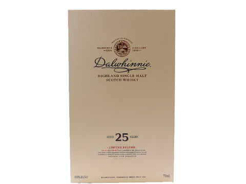 Dalwhinnie Aged 25 Years Single Malt Scotch Whisky 750ml