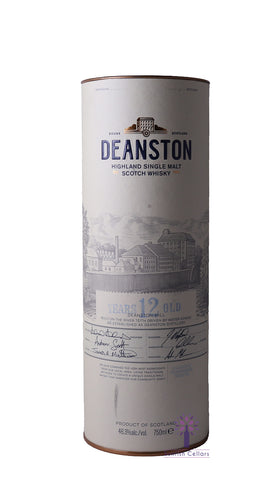 Deanston 12yr Old Whiskey