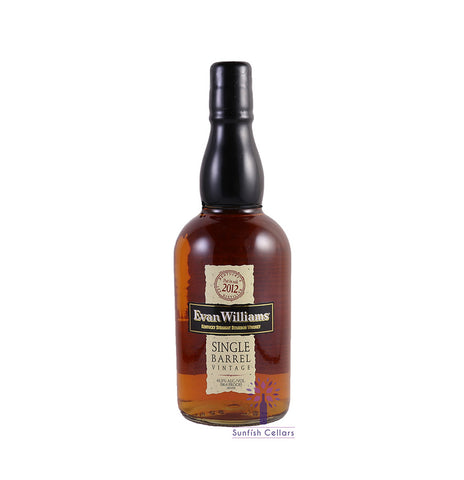 Evan Williams Single Barrel Straight Bourbon Whiskey 750ml