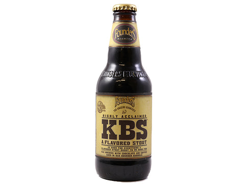 Founders KBS Bourbon Barrel-Aged Chocolate Coffee Stout 12oz Bottle