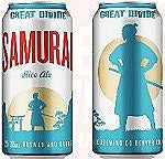 Great Divide Samurai Rice Ale 15pk Cans