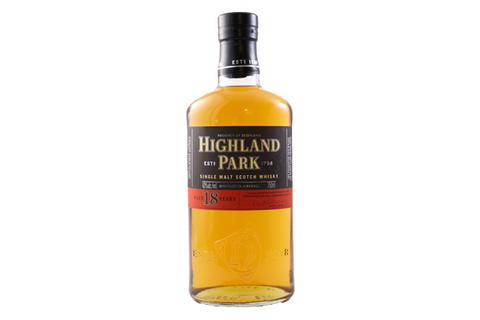 Highland Park 18 Year Old Scotch 750ml