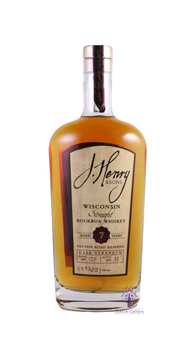 J. Henry & Sons Patton Road Reserve 7 Year Cask Strength Straight Bourbon 750ml