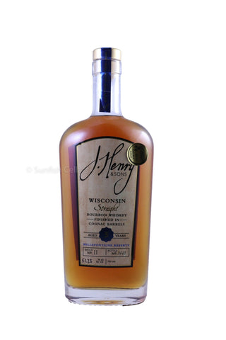 J. Henry & Sons Bellefontaine Reserve 5 Year Old Straight Bourbon Whiskey 750ml