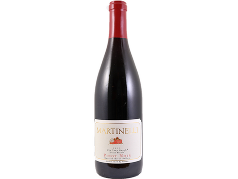 Martinelli Zio Tony Ranch Pinot Noir 2011