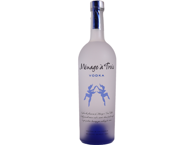Menage a Trois Vodka 750ml