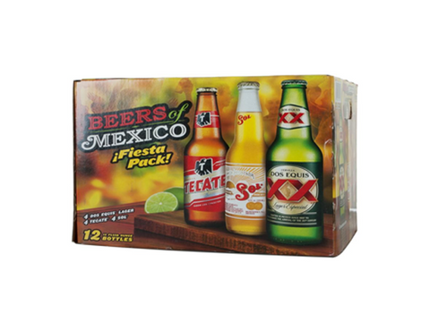 Beers of Mexico Sampler 12pk Btls