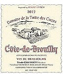 Nicole Chanrion Cote Brouilly