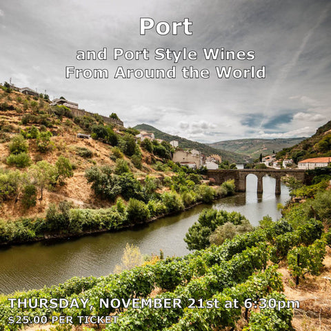Port and Port Style Wines From Around The World