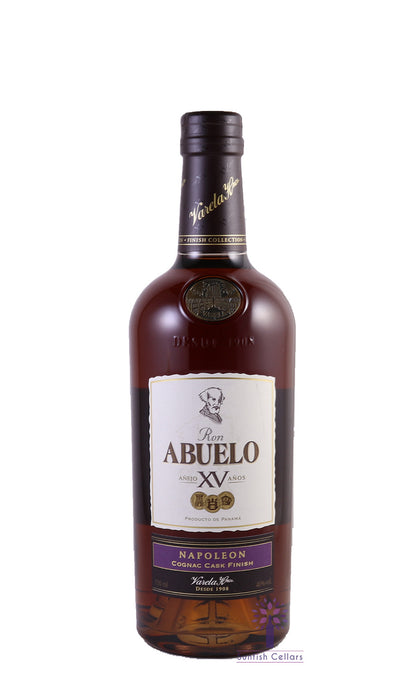 Ron Abuelo Anejo Finish Selection Napoleon 750ml