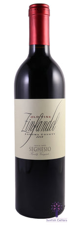Seghesio Family Vineyards Old Vines Zinfandel 2014