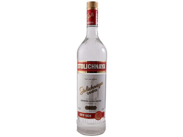 Stolichnaya Red Vodka 1L