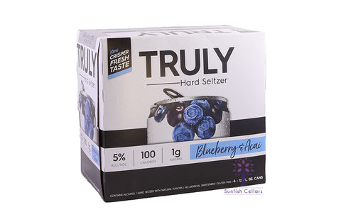 Truly Blueberry & Acai 6pk Cans