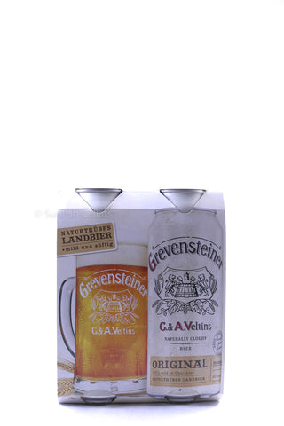 Grevensteiner Original 4pk Cans