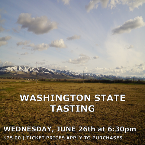 Washington State Tasting