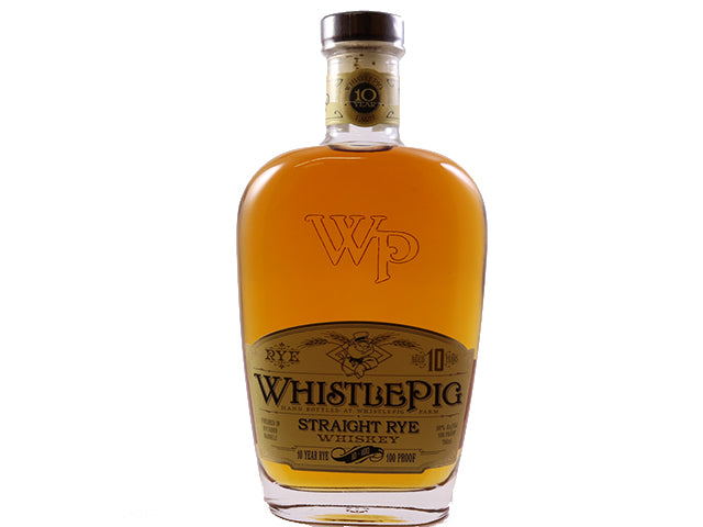 WhistlePig Farm 10 Year Old Rye Whiskey 750ml