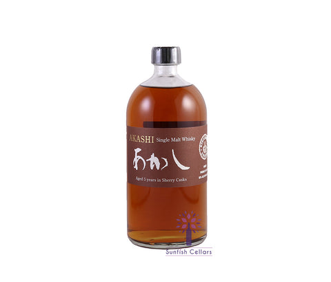 White Oak Distillery Akashi 5 Year Sherry Casks Single Malt Whisky