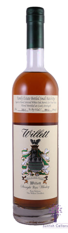 Willett Family Estate 4yr Straight Rye