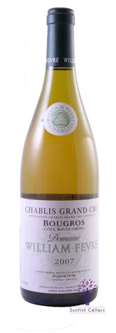 William Fevre Chablis Grand Cru Bougerots 2007